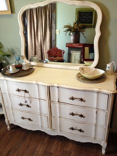 French Provincial dresser of bedroom set