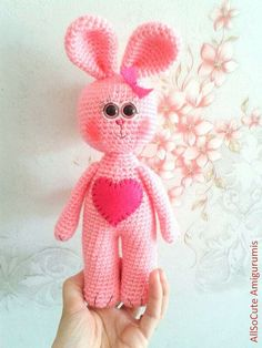 Rabbits PDF Crochet Pattern  Instant Download by AllSoCute on Etsy, $3.60