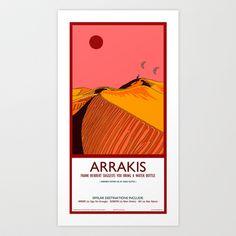 Arrakis Art Print by Autunpurser - $13.52