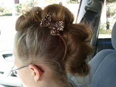 Rockin' a Mohawk: Want to do this on Yari for crazy hair day
