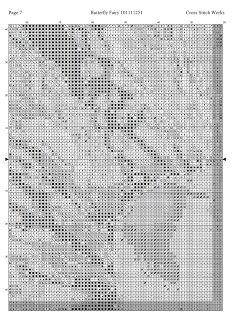Cross Stitch Works: Butterfly Fairy 101111251 Free Cross Stitch Pattern