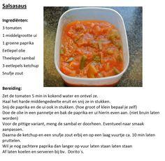 Zelfgemaakte Salsa dipsaus