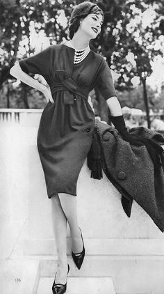 Rose Marie, photo by Roger prigent, Vogue, November 15, 1958.