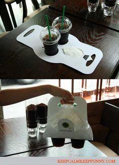 Creative Coffee Carry Bag