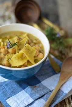 zuppa ceci e maltagliati-5