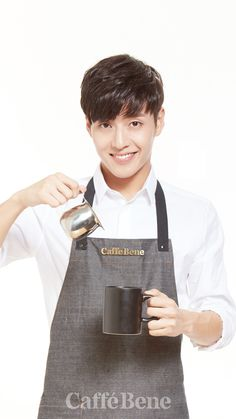 Do you want some coffee from my Haneul? Asian Actors, Korean Actresses, Korean Actors, Actors & Actresses, Korean Star, Korean Men, Kang Ha Neul Smile, Kang Ha Neul Moon Lovers, Kang Haneul