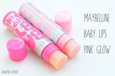 Maybelline Baby Lips Pink Glow – Baby Pink & Pink Blast « Beautiful Kayekie