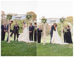 Gorgeous green Ojai Valley Inn and Spa Wedding by All You Need is Love Events and Jillian Rose Photography; wedding ceremony traditions