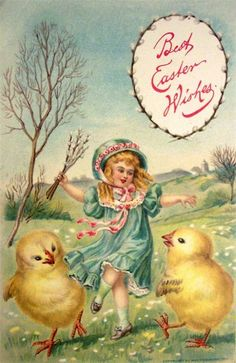 Easter vintage postcards -2. Discussion on LiveInternet - Russian Online Diaries Service