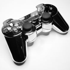 Custom modded chrome PS3 controller from www.intensafirestore.com.  Just $109.95