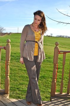 My Darling Days: What I Wore: Tweed with a side of Mustard.