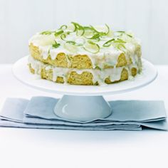 Cakes fresh lime and coconut cake Milk Powder Recipe, Coconut Milk Powder, Lime And Coconut Cake Recipe, Lemon Coconut, Coconut Recipes, Lemon Curd, Layer Cake Recipes, Fresh Lime, Celebration Cakes
