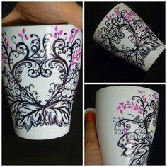 1000 images about tazas pintadas a mano on pinterest - Tazas decoradas a mano ...