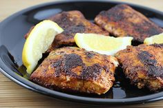 Blackened Salmon with Crunchy Coconut Couscous | Recipe | Blackened ...