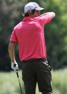 Harry Styles + Golf = the death of me
