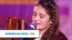 """Jeneve plays the harp and gives JLo the goosies during her performance of """"Angel"""" by Sarah McLachlan. Subscribe now for more American Idol clips: http://idol..."""