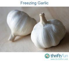 This is a guide about freezing garlic. Freezing garlic can be accomplished as…