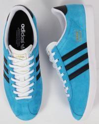 Adidas-Gazelle OG Solar Blue/Black