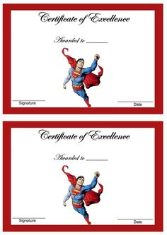 Free+Printable+Superhero+Templates | Certificates for Kids ...