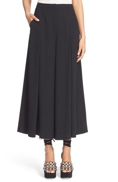 T by Alexander Wang Crepe Flare Pants available at #Nordstrom