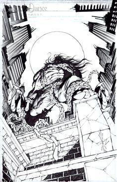 Pitt by Dale Keown Comic Book Artists, Comic Books Art, Comic Art, Amazing Artwork, Cool Artwork, John Byrne, Image Comics, Pencil Art, Venom