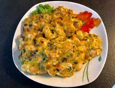 Siekane kotleciki z kurczaka, pieczarek i pora - Blog z apetytem Shrimp, Curry, Food And Drink, Yummy Food, Meals, Chicken, Dinner, Ethnic Recipes, Blog