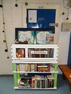 Litlte Free Library, Blokhuispoort, cel B00.03, Leeuwarden.