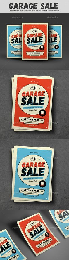 Retro Garage Sale Flyer