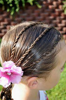 Princess Piggies: hawser braids
