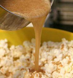 Yum carmel popcorn