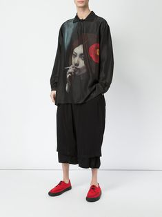 Yohji Yamamoto Smoking Girl シャツ