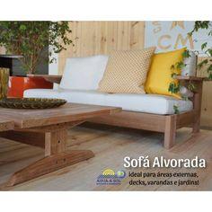 Feita com a nobre madeira de Cumaru certificado pelo selo FSC, a Linha Alvorada tem como características maiores a sua ergonomia e a grande durabilidade. Ela foi feita para levar conforto para as áreas externas de varandas, decks ou jardins. 🌴🌻👌