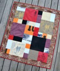Mosaic T-Shirt Quilt and Pattern · Quilting   CraftGossip.com