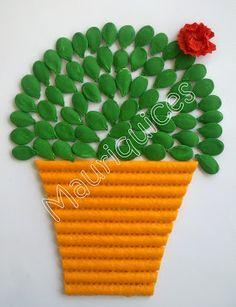 Mauriquices: Abracadabra! Das sementes de abóbora nasceu este majerico!