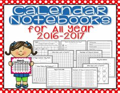 Calendar Math Journals: Use this Interactive Calendar Notebook to expand your morning calendar routine and make it interactive for all students.