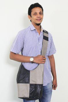 Grey Bandbag