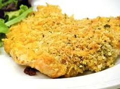 Garlic Cheddar Chicken – All Simply Recipes Turkey Recipes, Chicken Recipes, Dinner Recipes, Chicken Meals, Dry Bread Crumbs, Garlic Parmesan Chicken, Simply Recipes, Make Ahead Meals, Fabulous Foods