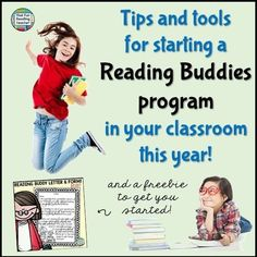 Thinking about starting a Reading Buddies program in your classroom this year? Here are some tips and tools to get things rolling!