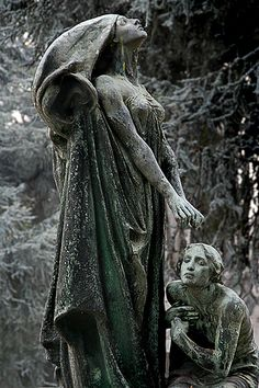 Stone monument, Turin Cemetery, Italy