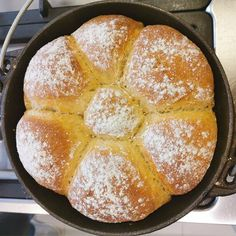 Even if you have never tried your hand at making and baking a yeast bread, try this, it is fool proof. The secret is to use the mashed potatoes, and the water in which the potatoes were cooked, to mix the bread. Potato Recipes, Bread Recipes, Baking Recipes, Potato Bread, Bread Ingredients, Healthy Family Meals, My Cookbook, Yeast Bread, Cake Flour