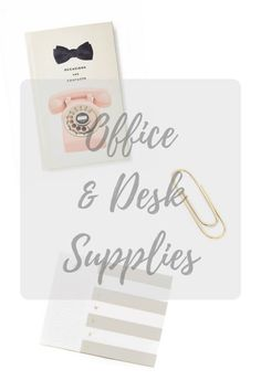New to the blog - ideas for your desk or office!