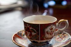 Comfort in a cup - chai.