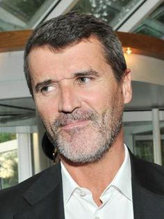 Roy Keane at last night's Mayfield Community Volunteer awards ceremony.