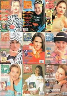 Rare Machine Knitting News Magazine Collection Free PDF Download