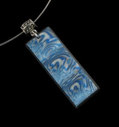 Polymer Clay Necklace  Polymer Clay Jewelry  by mindfulmatters, $23.00