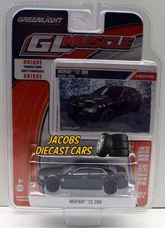 1:64  Greenlight Muscle Series 14 * 2012 MOPAR 300 * NICS #Greenlight #Chrysler