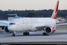 Virgin Atlantic Boeing 787-9 Dreamliner (registered G-VNEW; photo by Johan S. Gomez, JetPhotos.Net)
