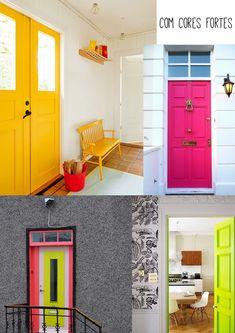 As portas da sua casa integradas na decora��o