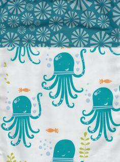 Emergency Diaper Bag Under the Sea by Monaluna by WhoopsieKit
