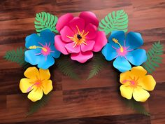 thecraftysag - PDF Petal 101 Paper Flower Template- Trace and Cut Files 2 Component Centers included (Not for Cutting Machines)